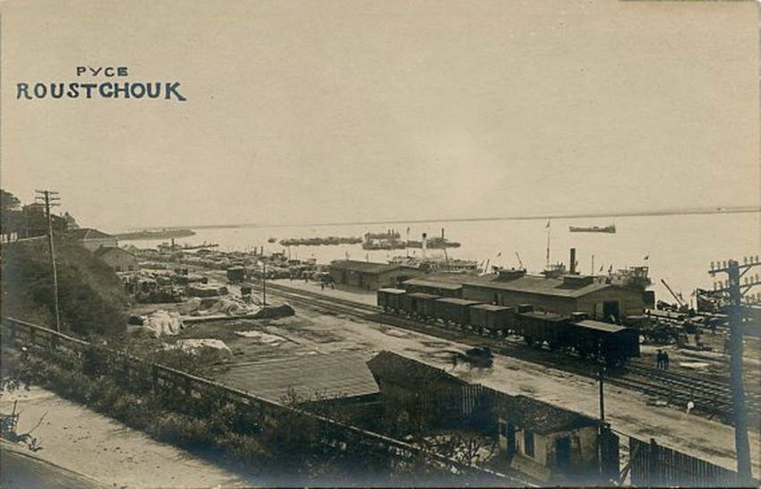 The port, 1920s