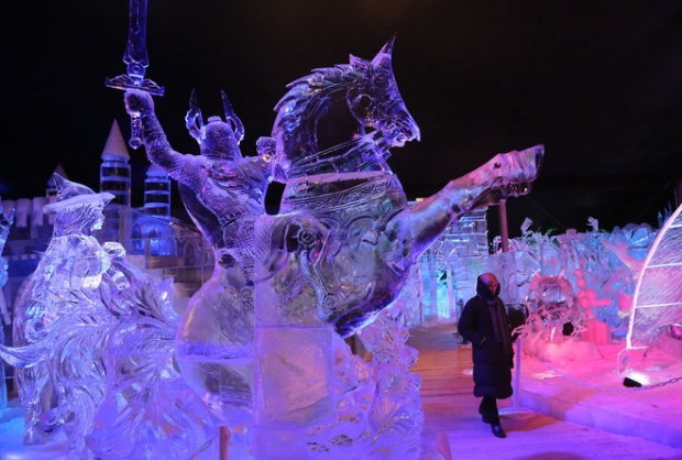 2015 Ice Sculpture Fest